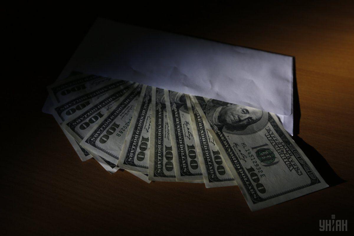 Тиждень назад голову Держгеонадр затримали на хабарі в 3 тисячі доларів / фото УНІАН