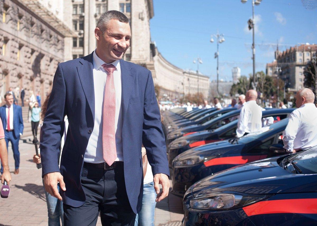 Кличко ответил Верняеву / Фото kievcity.gov.ua