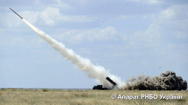 ракета, испытание / rnbo.gov.ua