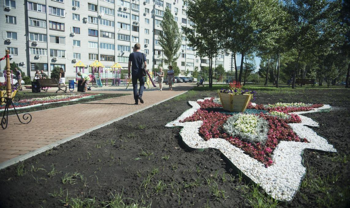 Новий сквер у Києві / Фото kievcity.gov.ua