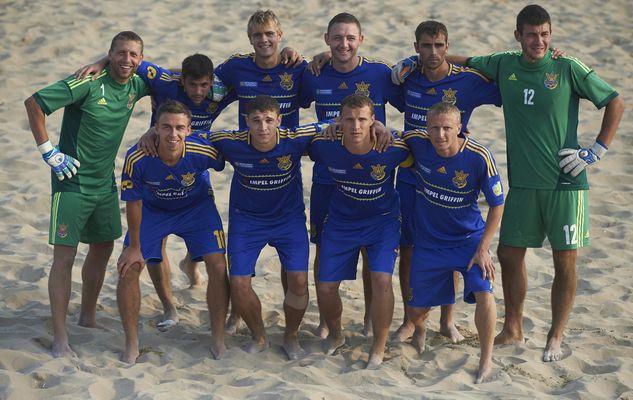 Украина - чемпион Евролиги / beachsoccer.com