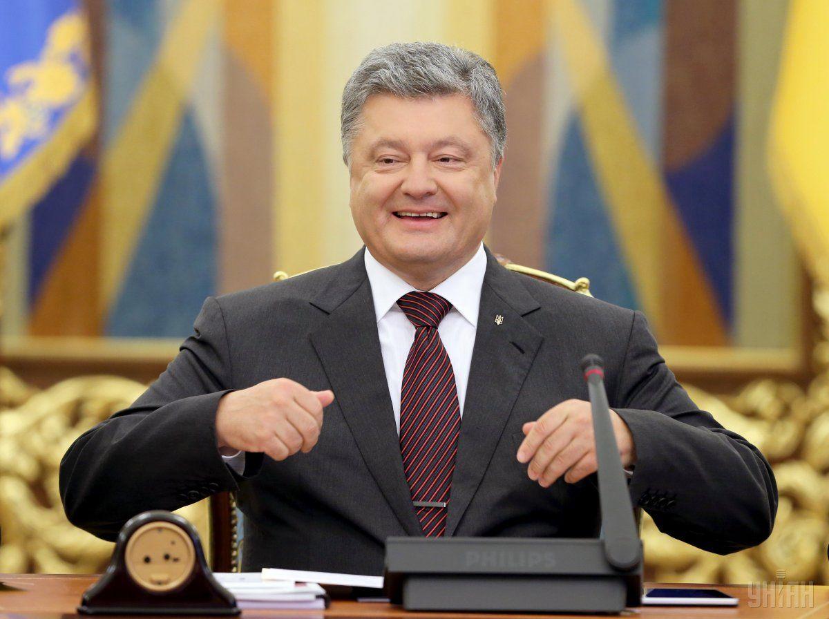 президент Украины Петр Порошенко на Нацраде реформ / УНИАН