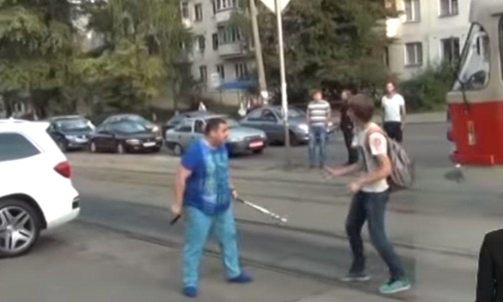 Кадр з відео СТБ
