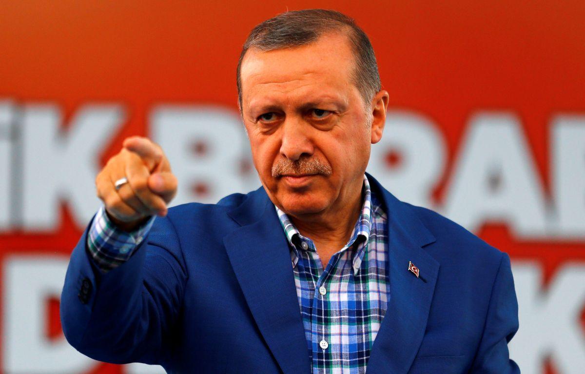 Президент Туреччини Таїп Ердоган / REUTERS