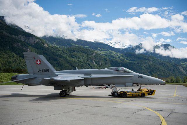ВВС Швейцарии / Keystone