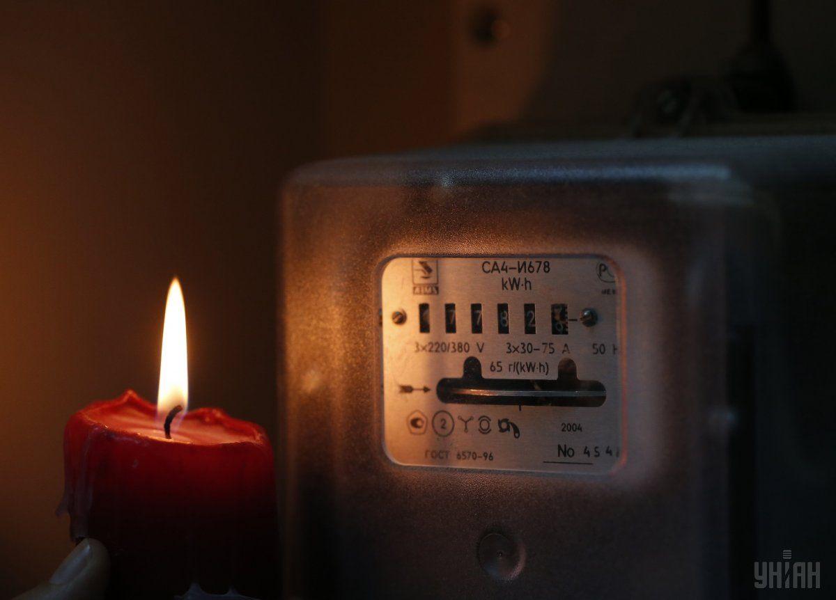 Печерський район Києва залишився без електрики / Фото УНІАН
