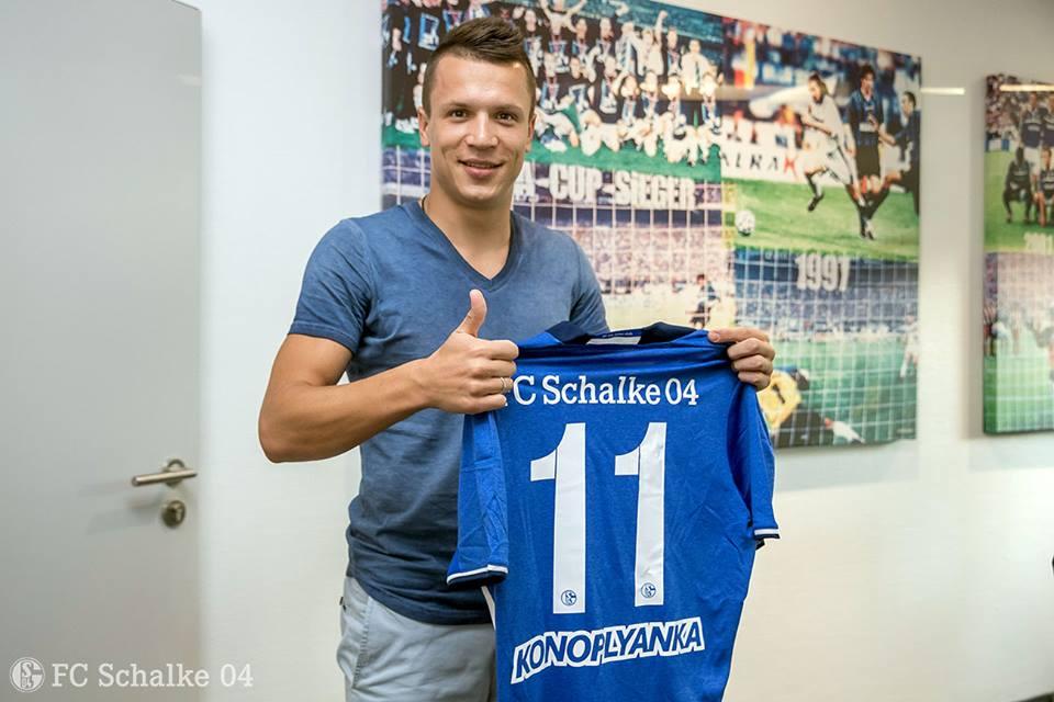 Коноплянка будет играть под 11-м номером / FC Schalke 04
