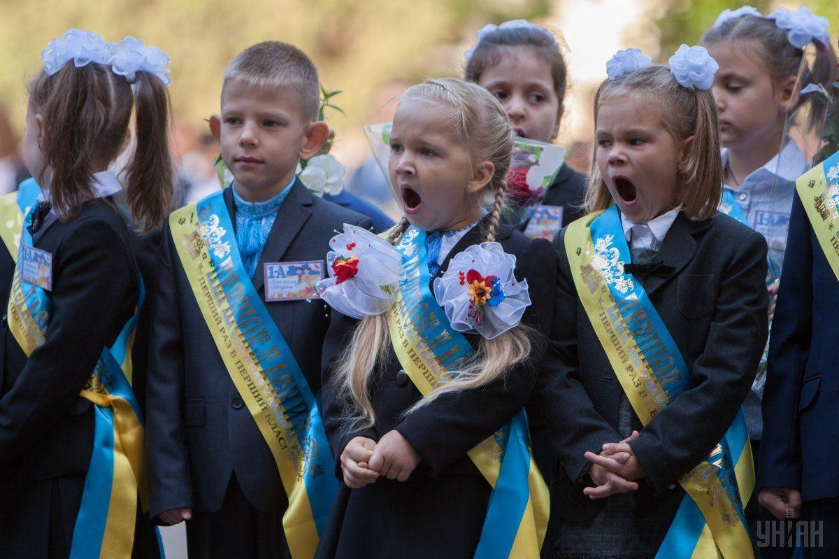 Ірина Геращенко назвала шкільні лінійки радянським рудиментом і закликала залишити дітей у спокої / УНІАН