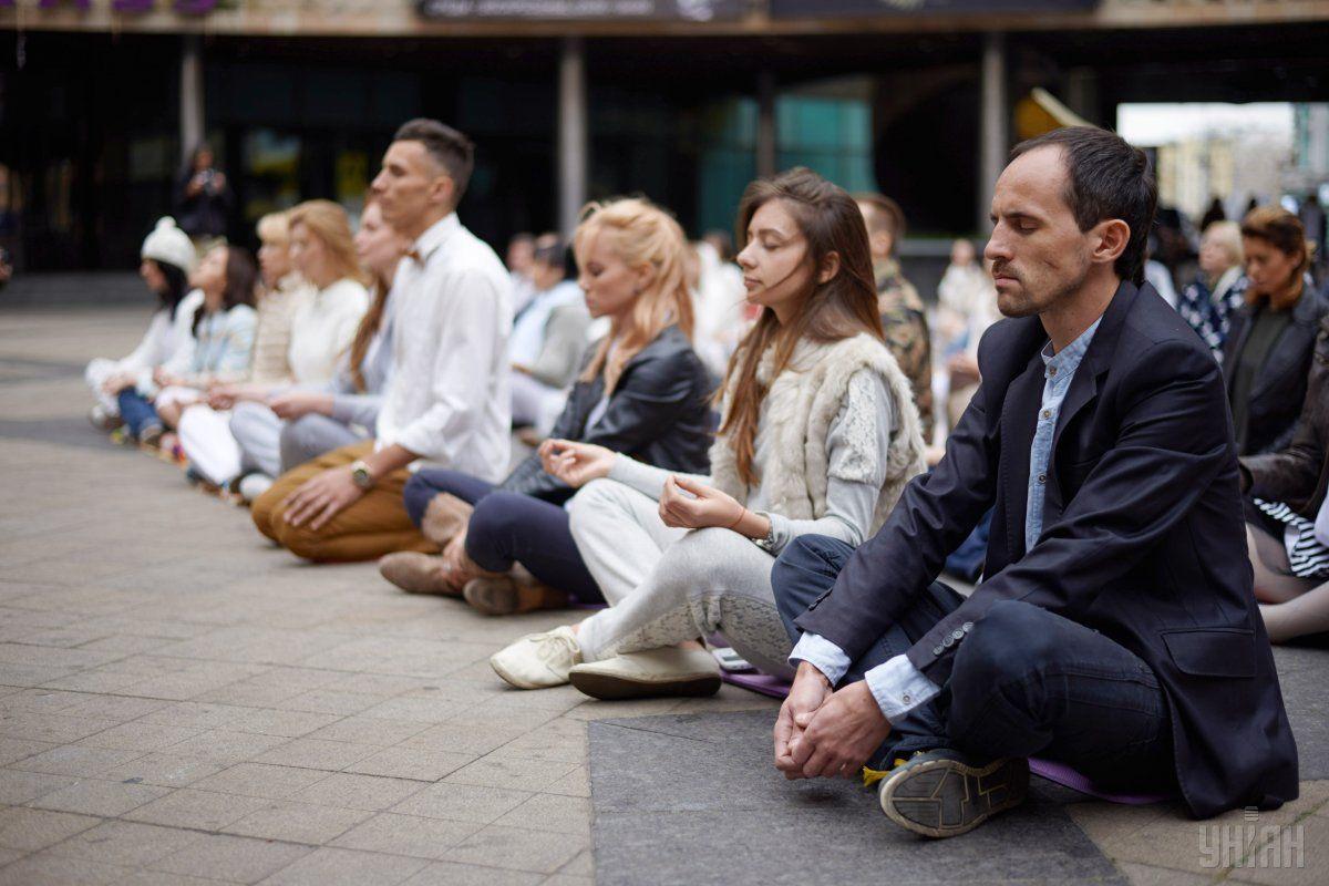 Найбільш потужною зброєю для контролю стресу є медитація / УНІАН
