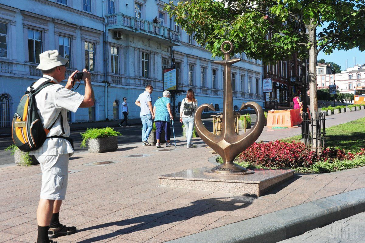 Tourists in Odesa / Photo from UNIAN