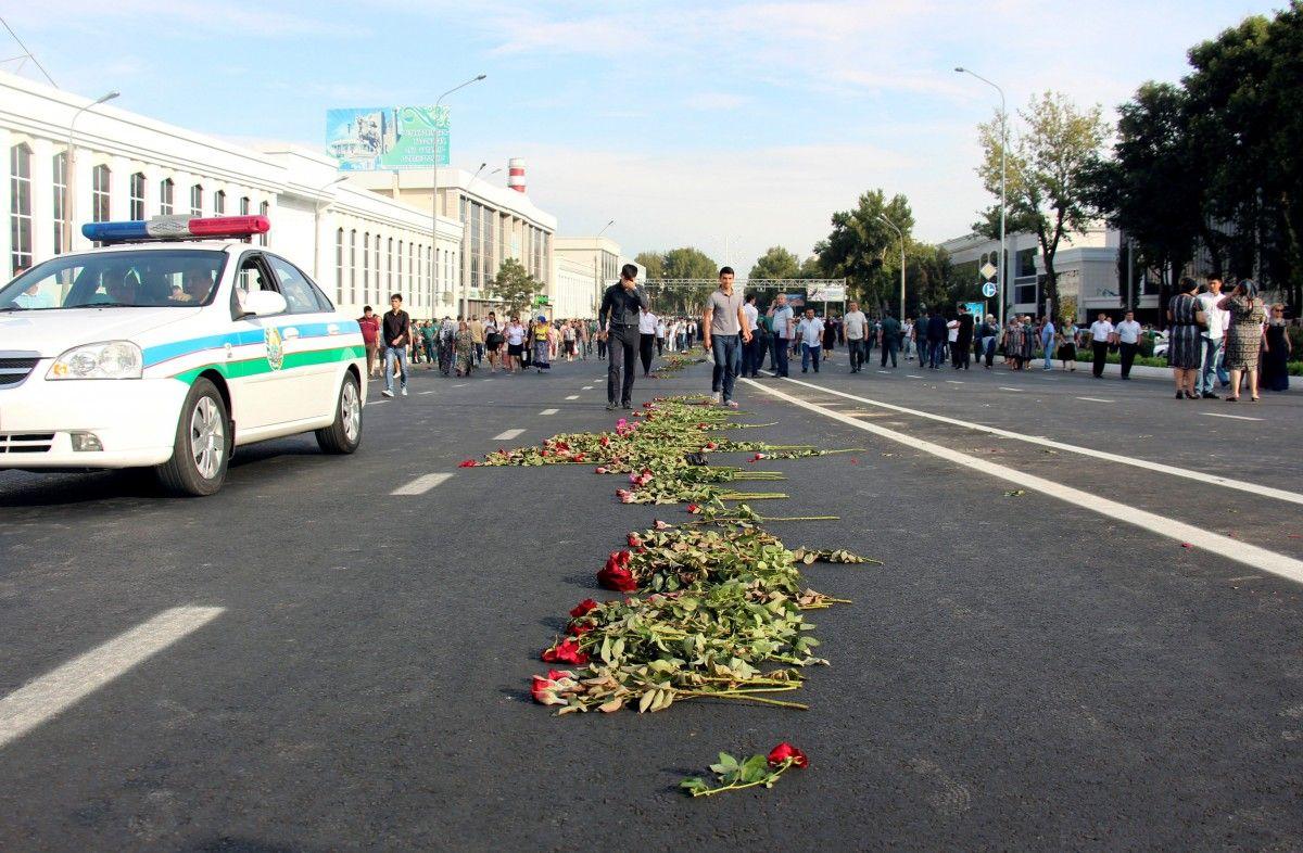 кавказе, фото траура узбекистан именно