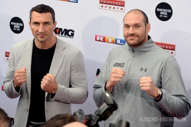 Бой Кличко - Фьюри состоится 29 октября / klitschko-brothers.com