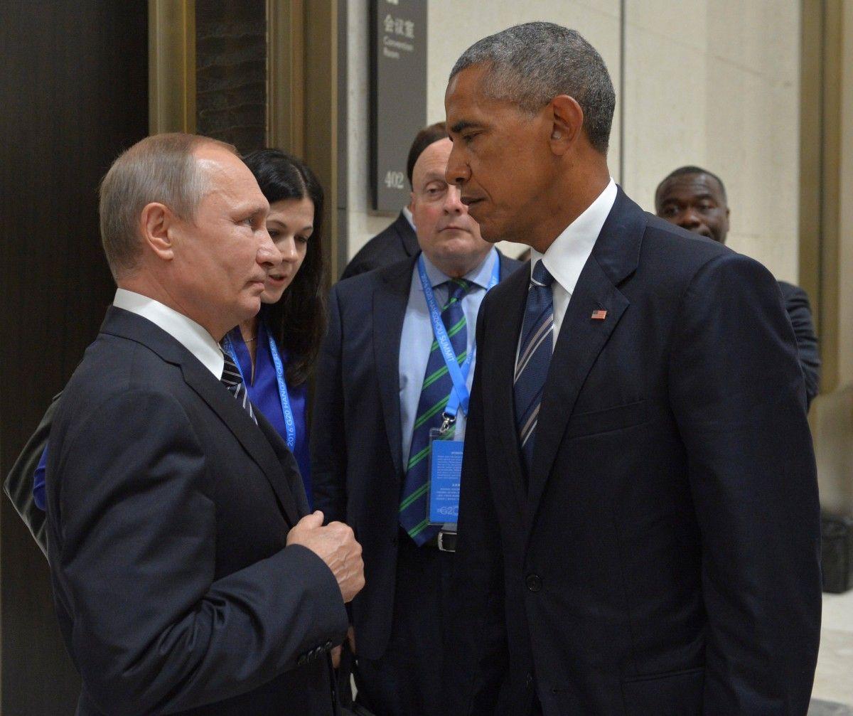 Путин и Обама на полях саммита G20 в Китае / REUTERS