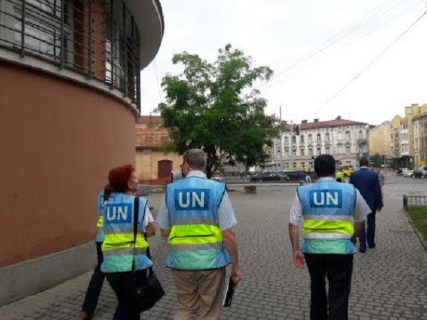 делегация ООН / ssu.gov.ua