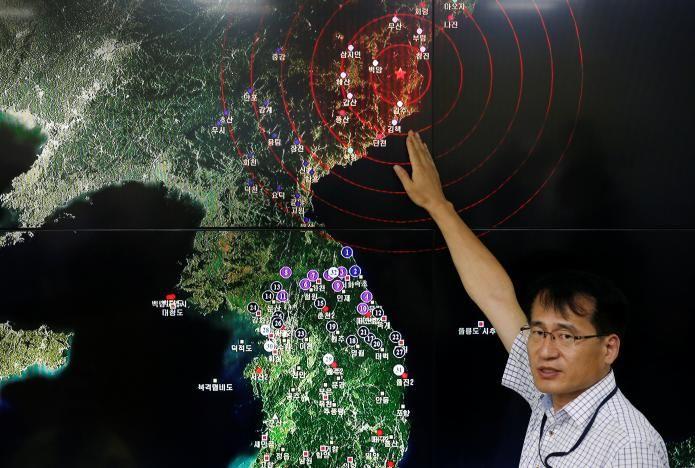 землетрясение / REUTERS