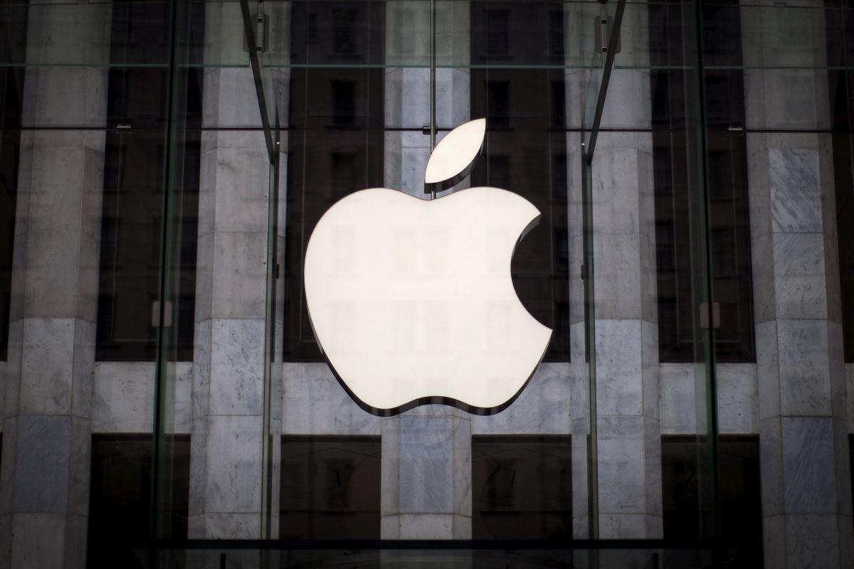 Логотип Apple, иллюстрация / REUTERS