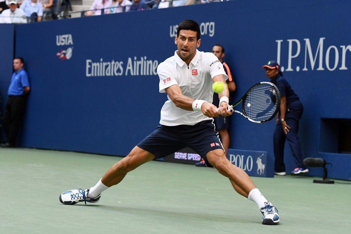 Джокович испытал небольшие проблемы в полуфинале только в третьем сете / usopen.org