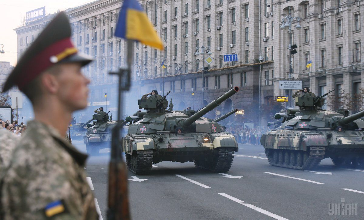 Ukraine celebrates the Day of the Armored Forces / Photo from UNIAN