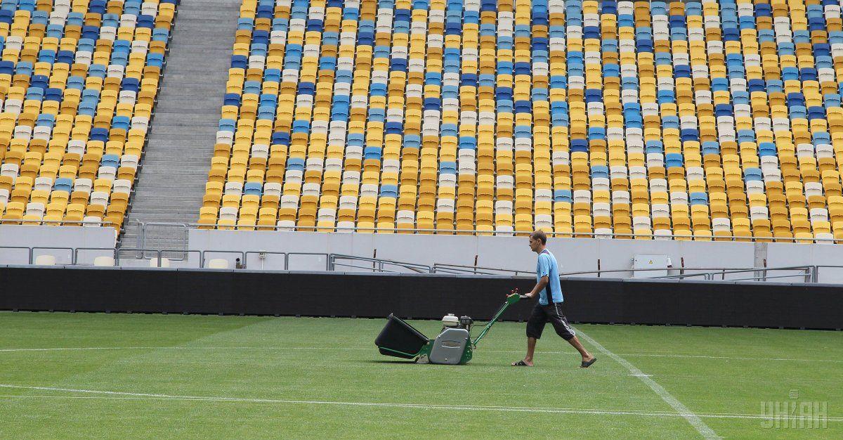 У НАБУ розслідує скандальні закупівлі «футбольної трави» від ФФУ / Фото УНІАН