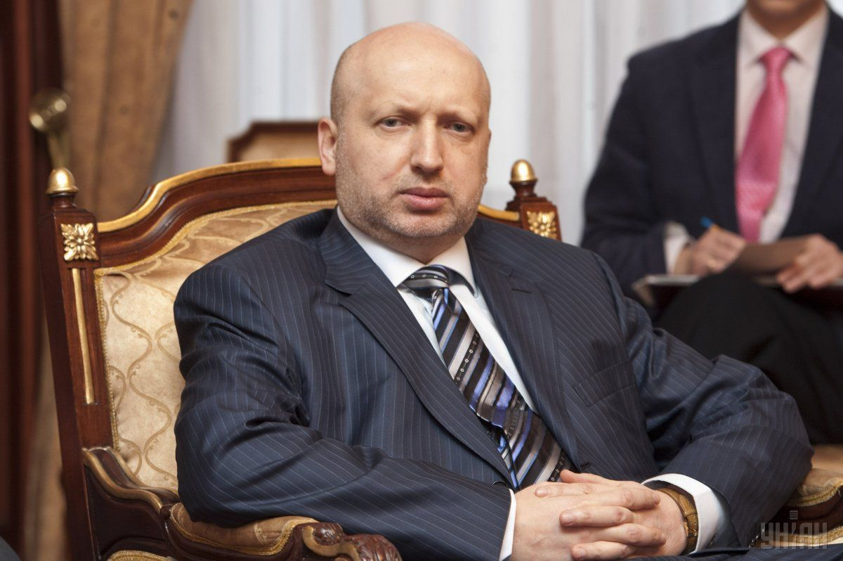 According to Turchynov, in a confrontation with Russia, Ukraine should rely solely on itself / Photo from UNIAN