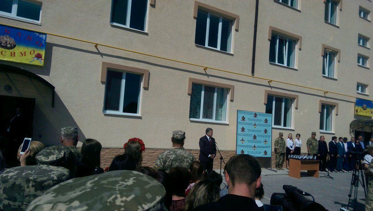 Порошенко приехал в Днепр / twitter.com/STsegolko