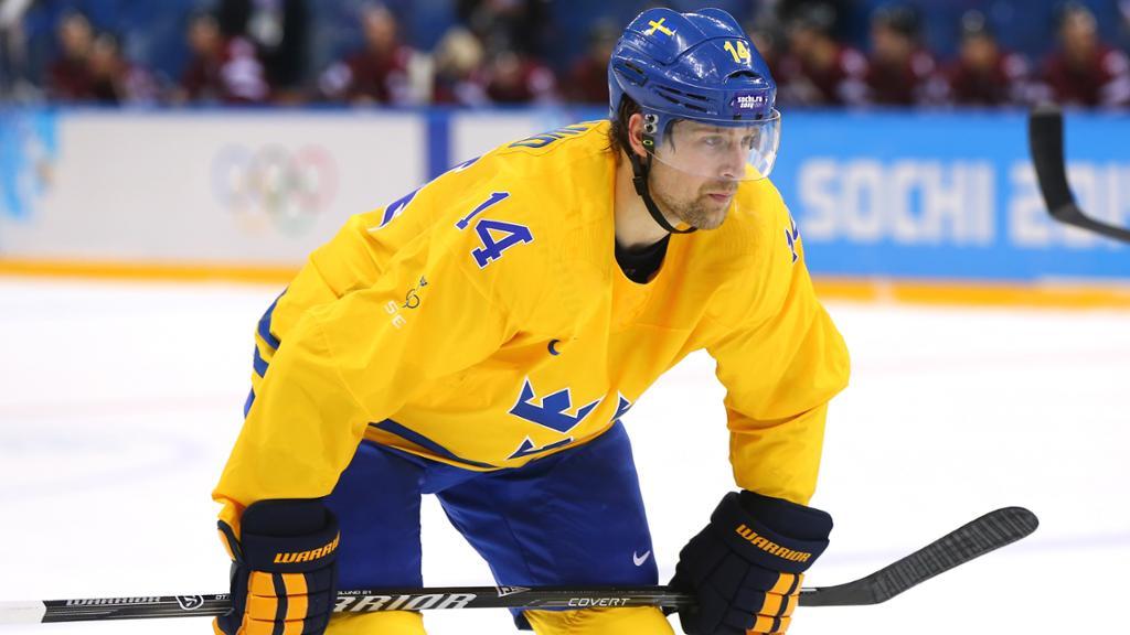 Берглунд в последний момент попал в состав сборной Швеции / nhl.bamcontent.com