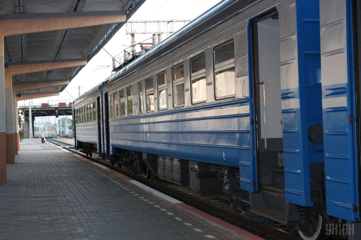 Движение ряда пригородных поездов будет восстановлено в ближайшее время / Фото УНИАН