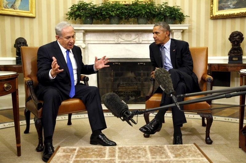 Биньямин Нетаньяху и Барак Обама / REUTERS