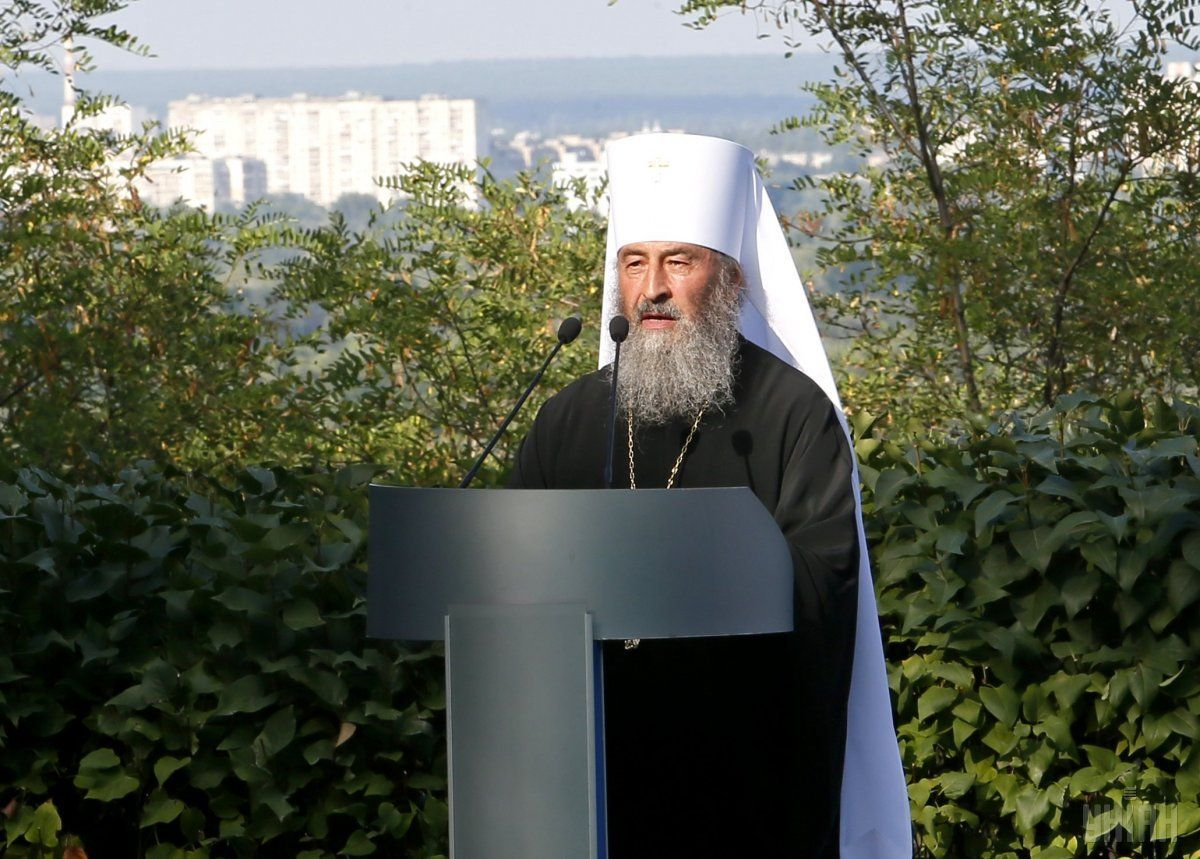 Metropolitan Onufriy (Berezovsky) / Photo from UNIAN