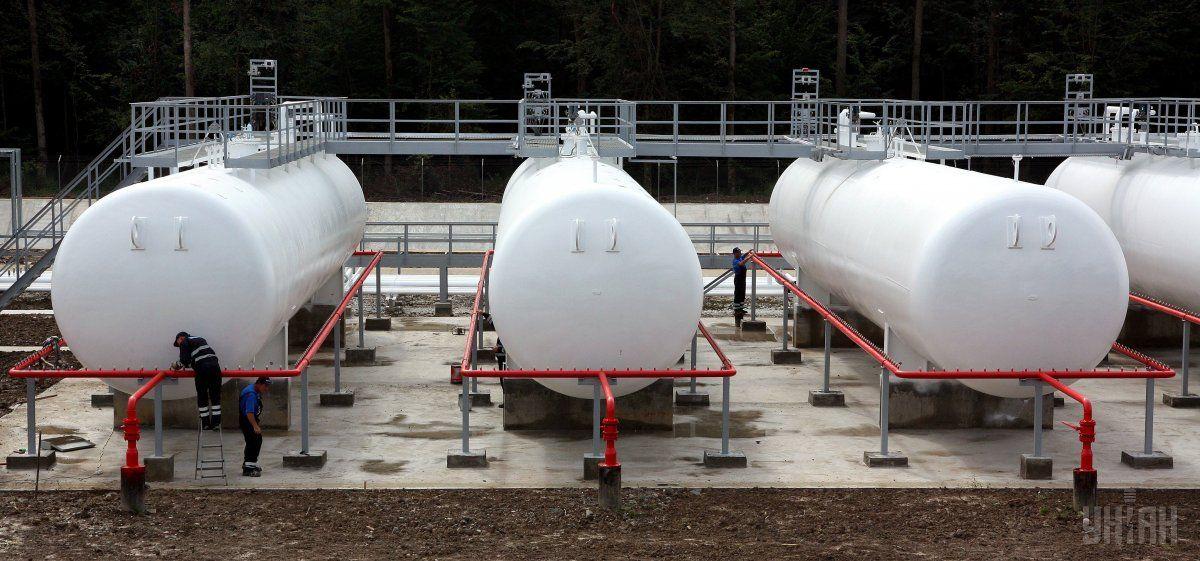 Еще один поставщик начал импортировать сжиженный газ в Украину / фото УНИАН