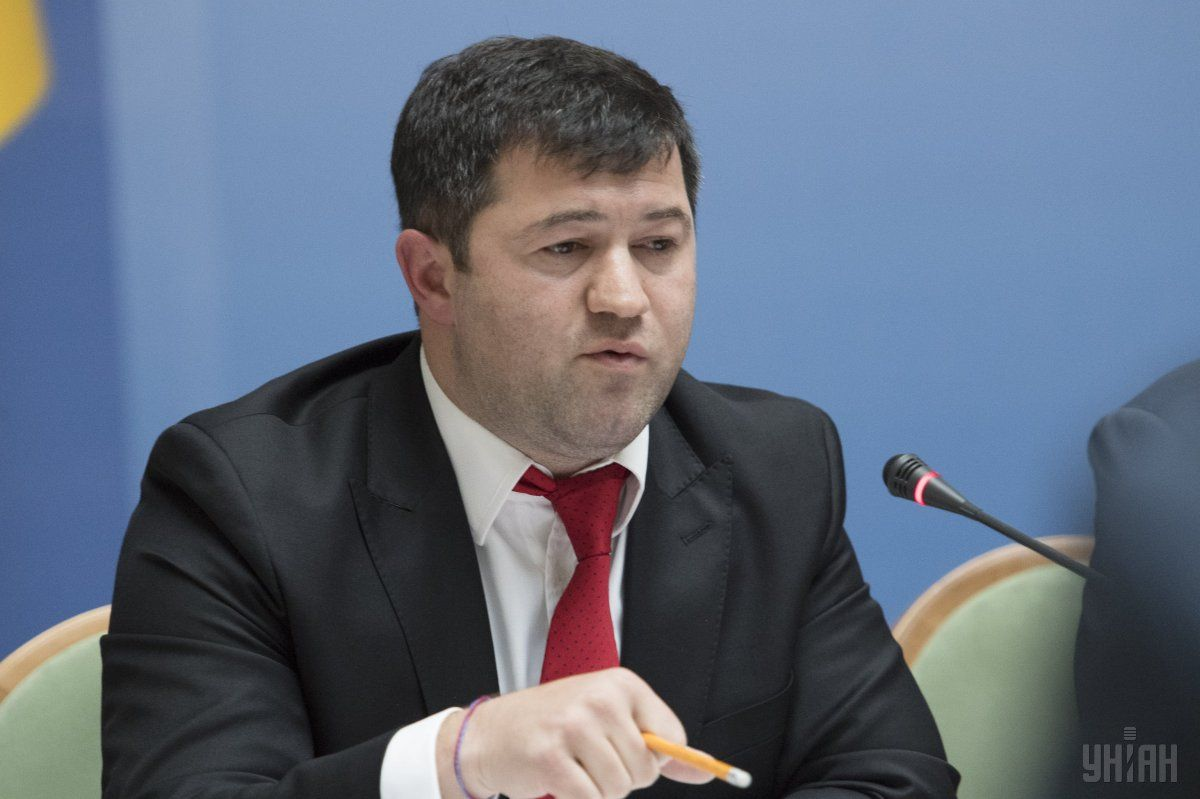 Nasirov reported in the Cabinet / Photo from UNIAN