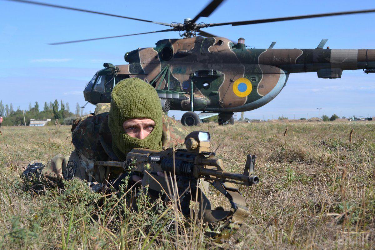 Спецназ в зоне Операции Объединенных сил на Донбассе / фото УНИАН