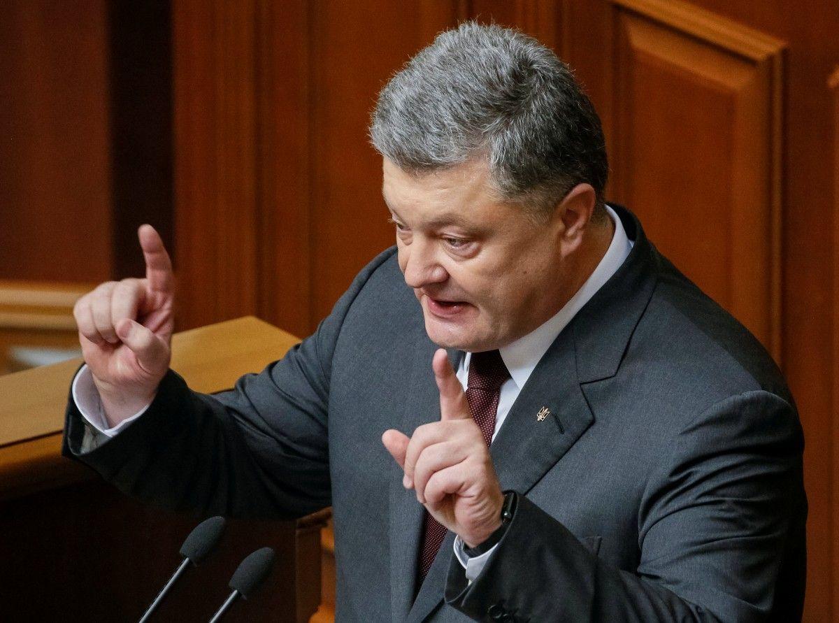 Президент України Петро Порошенко / REUTERS