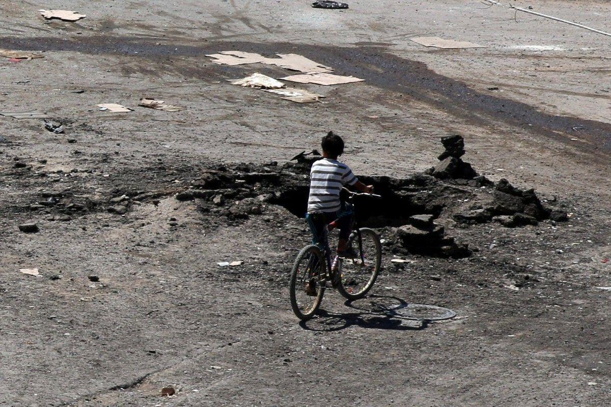 Последствия боевых действий в городе в сирийской провинции Дераа / REUTERS