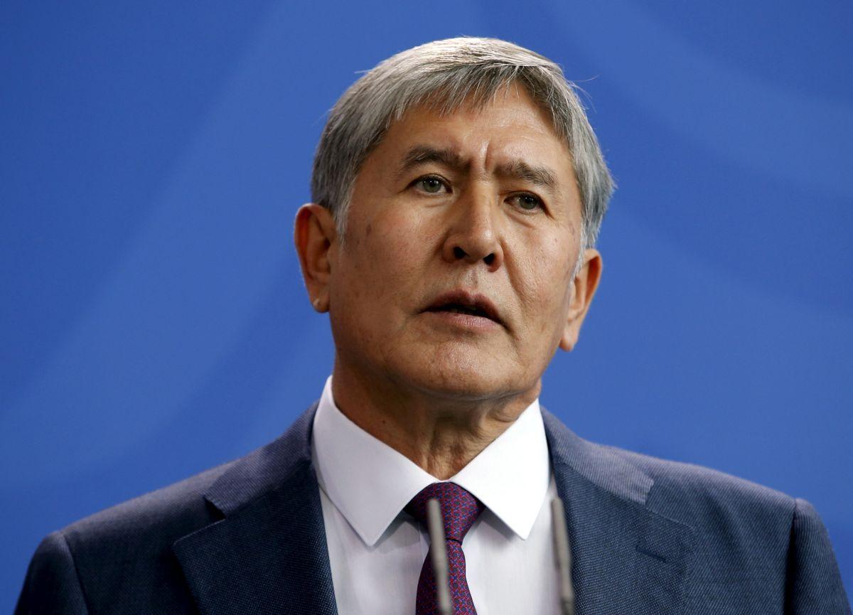 Президент Киргизстана Алмазбек Атамбаев / REUTERS