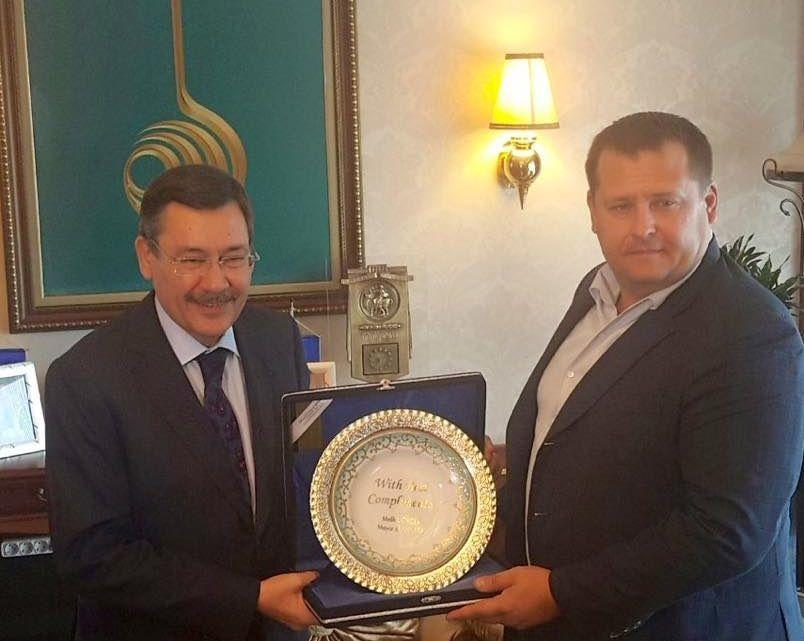 Філатов зустрівся з мером Анкари