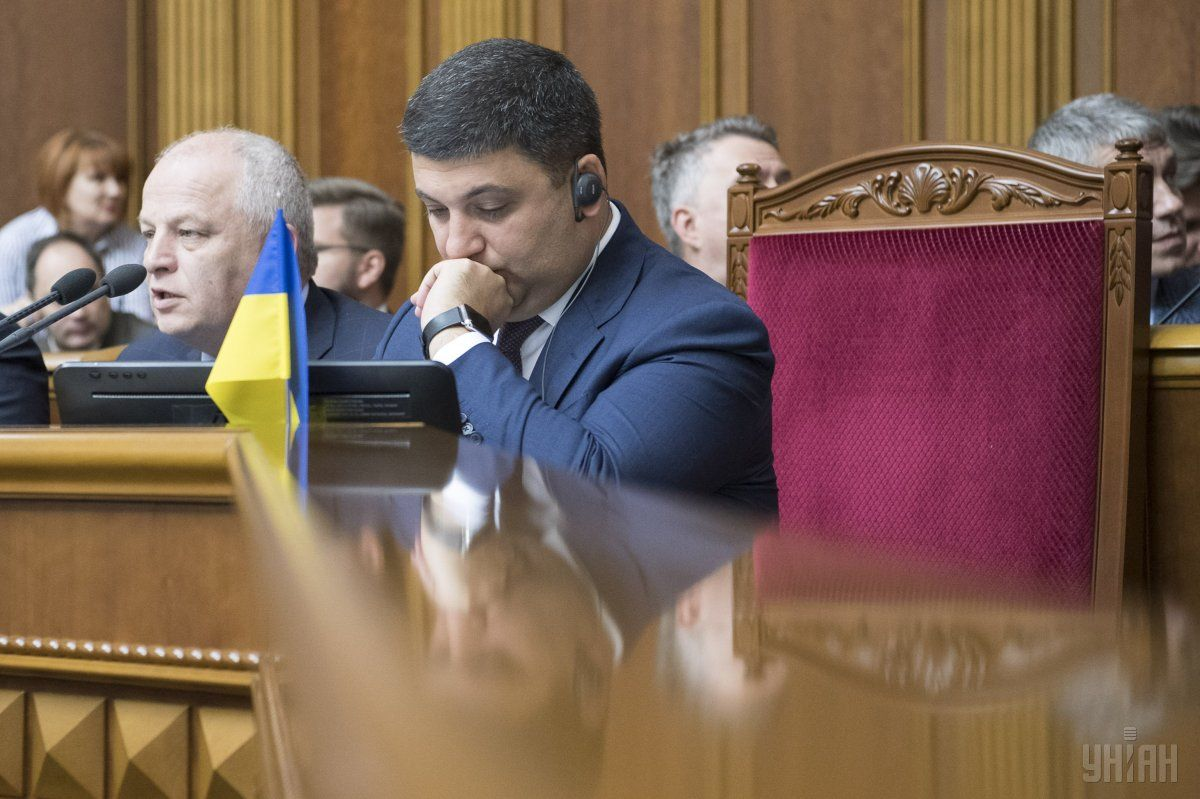 Гройсман: Никто не должен ставить под сомнение необходимость создания общественного телевидения в Украине / Фото УНИАН