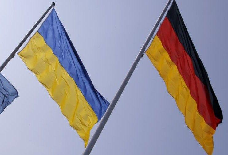 Флаги Украины и Германии / REUTERS