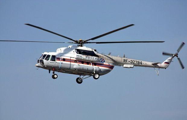 На поиски трех человек вылетел вертолет / mchs.gov.ru