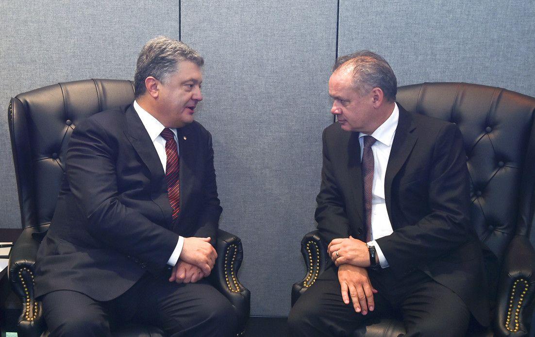 Петро Порошенко та Андрей Кіска / president.gov.ua