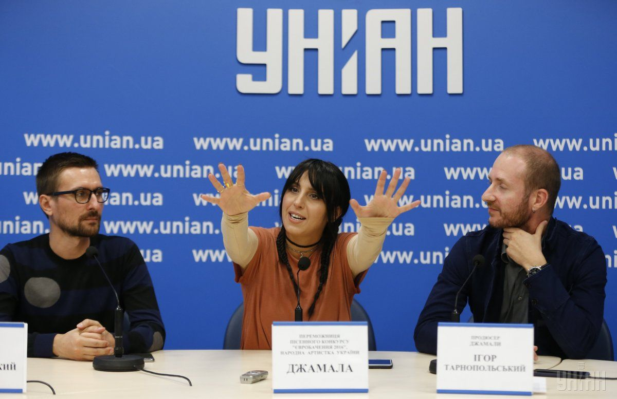Jamala presented a video for her song 1944 / Photo from UNIAN