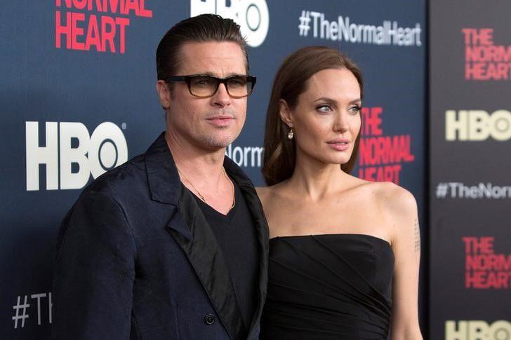 Как известно, у Джоли и Питта шестеро наследников / фото - REUTERS