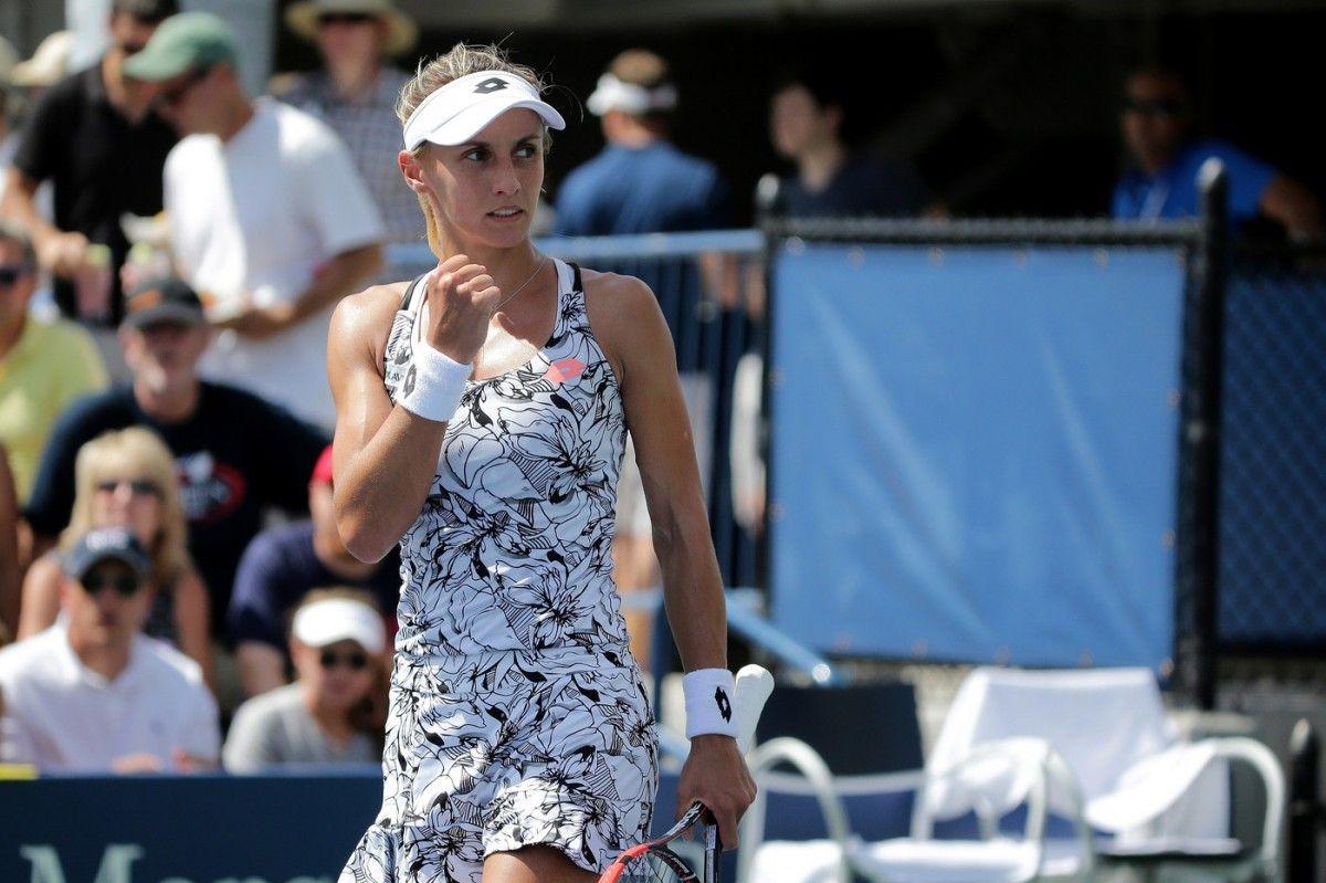 Украинская теннисистка обыграла фаворитку турнира вНидерландах