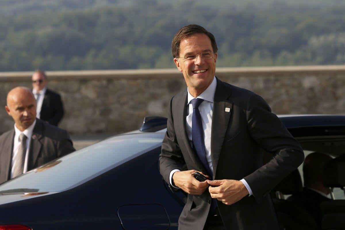 голландский премьер-министр Марк Рютте / REUTERS