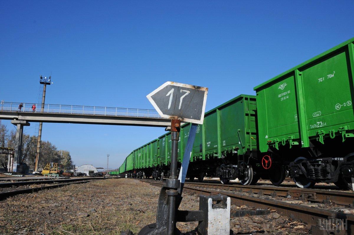 """В рабочем парке """"Укрзализныци"""" находится 61 тысяча грузовых вагонов / фото УНИАН"""