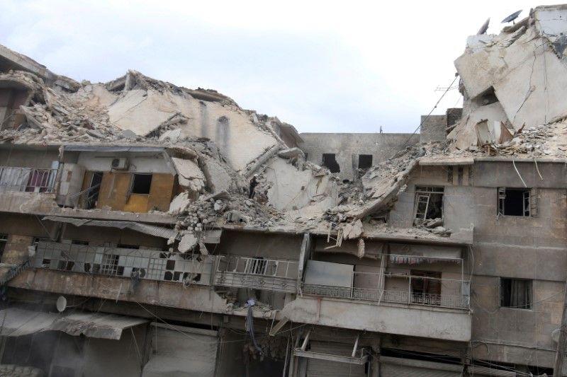 Руїни в Алеппо, ілюстрація / REUTERS