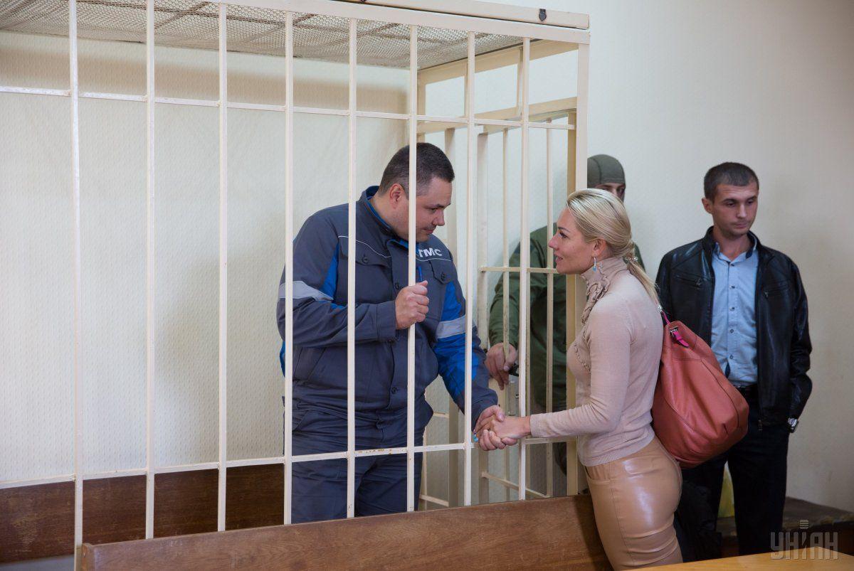 Директор ЗТМК Владимир Сивак во время судебного заседания / УНИАН