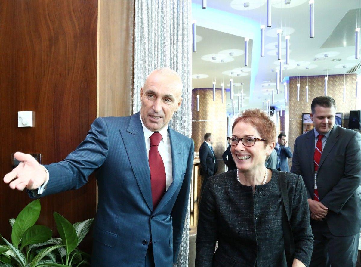 Марі Йованович и Олександр Ярославський / Фото пресс-служба