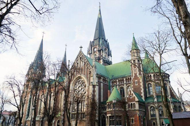 6ad236c8fd62f5 Костел Єльжбети. Церква Ольги та Єлизавети, 1903-1911 рр., Львів