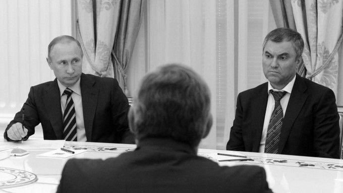 Вячеслав Володин – спикер новоизбранной Думы / sueddeutsche.de